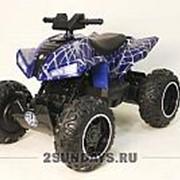 Детский квадроцикл на аккумуляторе T777TT Spyder синий фото