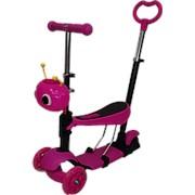Самокат детский Salamon TK05 Розовый фото