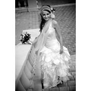 Пошив свадебного платья в стиле Фламенго фото