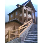 Production of wooden houses, saunas, cottages, custom professional approach to each client фото