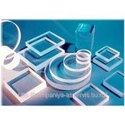 Стекло смотровое и оптическое (марки КУ, КВ)
