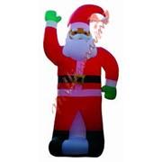 Надувной Дед Мороз фото
