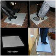 Отопительная панель СТЕП-половик для киоска 200 Вт/0,50 х 0,50 фото