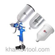 Краскораспылитель пневматический HVLP BLUE PROF Intertool PT-1506 фото