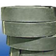 Нешлифованная, вальцованная, черная тормозная лента. фото