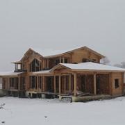 Строительство брусовых домов фото