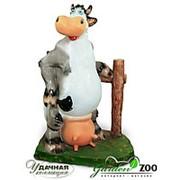 Фигура Корова с забором фото