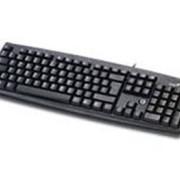 Клавиатура GENIUS KB-06XE, PS/2, ЧЕРНЫЙ фото