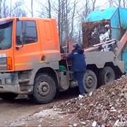 Услуги по вывозу строительного мусора фото
