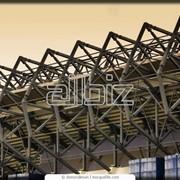 Стадионы открытые. Изготовление и монтаж металлоконструкций. фото