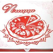 Коробки картонные для пиццы, упаковка картонная для пиццы фото