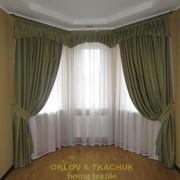 Индивидуальный пошив штор, гардин, ламбрекенов Киев фото