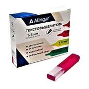 Маркер 083121 Alingar AL 5535 (083138) ТЕКСТОВЫЙ РОЗОВЫЙ, ПУ 1-5 мм водный в.уп.12 шт. ( цена за 1 шт.) фото
