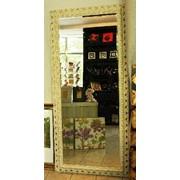 Зеркала напольные из итальянского багета любых размеров фото