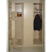 Шкаф в раздевалку фото