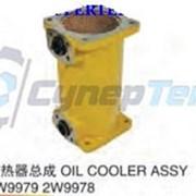 Масляный радиатор (маслоохладитель) Caterpillar 2W9979 2W9978 p/n фото