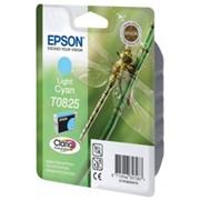Картридж Epson Light Cyan для Stylus Photo R270/R290/RX590 светло-голубой фото