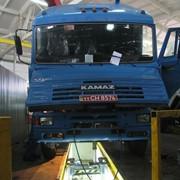 Услуги станции технического обслуживания для грузовых автомобилей Камаз фото