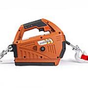 Лебедка электрическая переносная TOR SQ-05 450 кг 4,6 м с аккумулятором 24 В фото