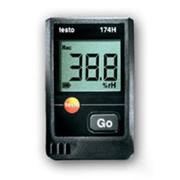 Testo 174H логгер (регистратор) влажности и температуры с интерфейсом USB в комплекте (0572 0566) фото