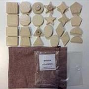 Noname Комплект фишек для «Сенсино»: классические геометрические фигуры арт. RN23082 фото
