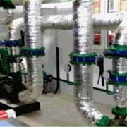 Монтаж систем отопления домов и предприятий фото