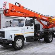 Услуги Автовышка ГАЗ 22м фото