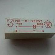 Реле промежуточное герконовое РПГ-8-2510 60В фото