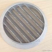 Внешняя алюминиевая решетка для клапана КПВ-125 (КИВ-125) фото