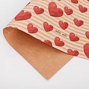 Подарочная упаковка крафтовая Люблю тебя фото