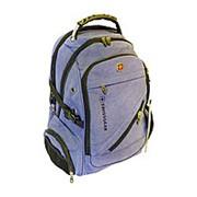 SWISSGEAR Рюкзак 35L 8810# USB BLUE JEANS фото