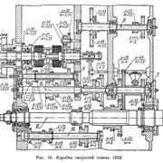 Шестерня  блок-двойка 8-й оси 1К62-02-117 (z-6 фото