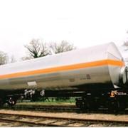 Железнодорожные цистерны (химические, пищевые и нефтепродукты) фото