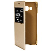 Чехол-книжка для Samsung Galaxy A5. золотая фото