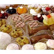 Пирожные с начинкой фото