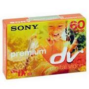 Sony цифровая видеокассета miniDV Premium DVM60PR3 фото