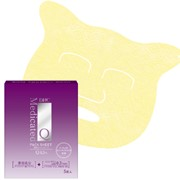 DHC Medicated Q10 PACK SHEET Омолаживающая маска для лица с коэнзимом Q10, 5 шт фото