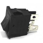Выключатель SC-768 без подсветки (4с) черный фото
