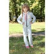 Спортивный костюм с мишкой из жемчуга 3006 Alve фото