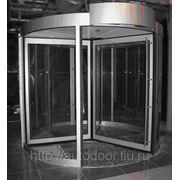 Автоматическая карусельная дверь фото