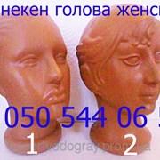 Манекен женской головы фото