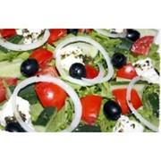 Доставка салатов - Греческий фото