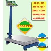 Весы товарные Jadever JBS-700M с поверкой 60/150/300 кг фото