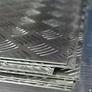Алюминиевый лист рифленый от 1,2 до 4мм, резка в размер. Гладкий лист от 0,5 мм. Доставка по всей области. Арт-836 фото