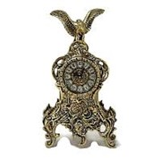 Часы каминные Ласу Агила бронзовые фото
