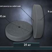 Блины, диски для штанги и гантелей 25 кг от производителя (пара) фото