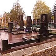 Мемориальный комплекс из гранита №5 фото