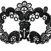 Нитяная маска с цветами фото