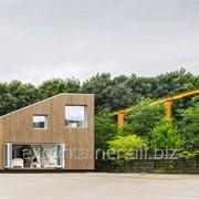 Скандинавский дом из контейнеров фото