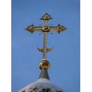 Крест на купол фото